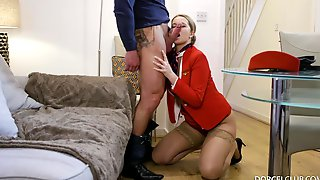 Raunchy Stopover For Stewardess