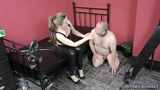 Shoe Worship Compilation Hunk & Female Slaves