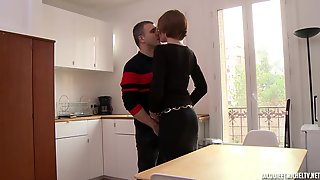 Beatrice Is An Experienced, Golden-haired Woman With Glasses Who Loves To Have Sex With Younger Lads