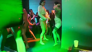 Lascivious Gals And Sexually Excited Lads Are Banging Every Other In The Night Club, All Night Lengthy