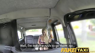 FakeTaxi Curvy Golden-Haired With Large Booty And Melons