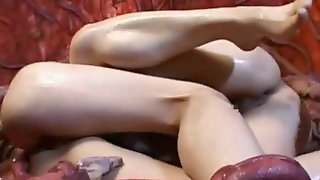 Banged By Tentacle Monster Two