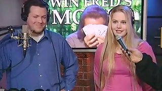 Howard Stern Show, Melissa Wins Contest But Gets In Natures Garb In Any Case