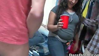 Dare Dorm Teens Having An Fuckfest They Hope Will Make It As A Top Porn Episode