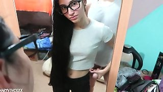 Banged My Girlfriends Nerdy Roommate In A College Dorm - MaryVincXXX