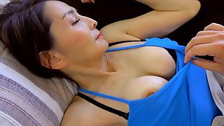 Sleeping MILF Is Undressed And Groped By Her Perverted Stepson