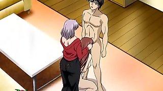 A Kinky Threesome Clip Of Hentai Fucmking In Mofuku Tsuma
