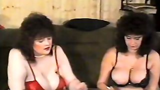 Vintage Porn Video Shows Two Busty Cougars In 3some With Bearded Guy