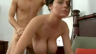 Alexis May's Giant Tits Get Fucked Hard