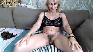 PInk Big Tits Of Blonde Mature