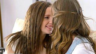 Jacqueline, Chloe In Girl On Girl Action