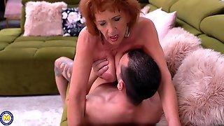 Grandma Kiss Suck And Fuck Lucky Boy