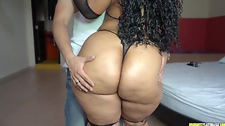 Libidinous BBW Hispanic Mommy Exciting Adult Video