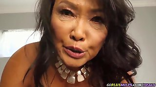 Soaked Fantasies With A Concupiscent Oriental Granny