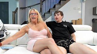Granny Sucks A Large Schlong