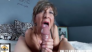 Hawt Mother Id Like To Fuck Marie BJ CUM Compilation