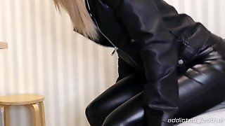 Banged My Girlfriend Totally In Leather