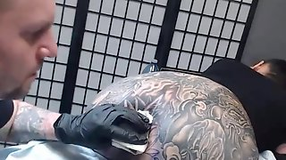 Darcy Diamond Gets Her Backdoor Tattooed By Trevor Whelen For 4.5 Hours - Infected (Intro) Sickick