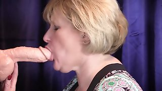 Cum In Throat Practice. Practice Makes Flawless In Taking A Mouthful Of Cum!