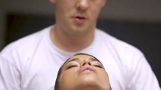 Massage Rooms Breasty Slovakian Angel Chloe Lamour In Oiled Up Ecstasy