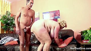 Large Titted Granny Was Home Alone And Needed A Worthwhile Bang As Pretty Soon As Possible