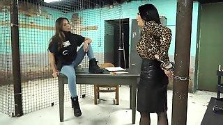 Womans Prison Bondage Fetish Video