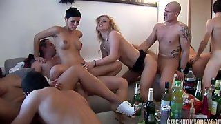 Sultry Girls Aphrodisiac Group Porn Clip