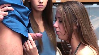 Shoplyfter - Hawt Teen Thieves Bang Their Way Out Of Trouble