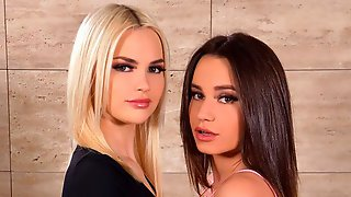 Horny BFF Swingers Lana Roy And Lika Star Throw Surprise Sex Party With Boyfriends GP1933