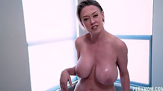 Stepmom Asked Me To Shave Her Pussy Hair