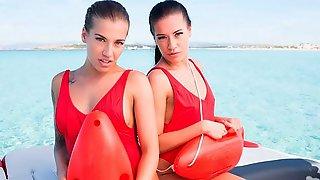 Dellai Twins: Surf Side Butt Sluts