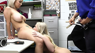 Thieves Giovanni Francesco And Lauren Pixie Fucked By An Officer