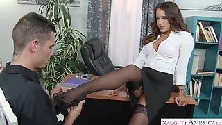 Mila Marx Naughty Office - Latina