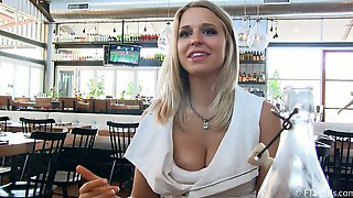 Sex Dialog With A Stunning Blond Model Lacie