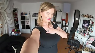 Alexsis Faye - Trying On Different Dresses - Big Tits