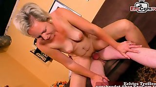 German Aged Housewife Try Amateur Porn