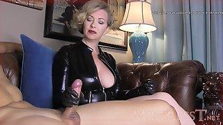 Mature MST Milking Jerk - Mistress T