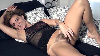 Drugaya - Black Bed Black Lingerie