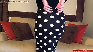 Indecent Talk And Fingering With Older Red XXX