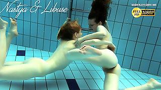 Nastya And Libuse Super Hottest Babes Underwater