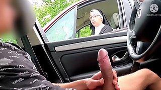 Nun Helped Jerk A Stranger Off