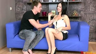 18videoz - Evelyn Cage Dressing Hot For Anal Date