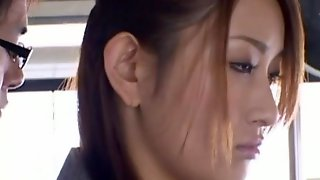 Horny Asian Doll Pounded Hardcore In Public Group Sex