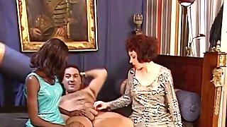 Swinger Couple Ebony Escort Threesome