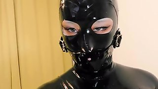 Ebony Latex Doll Sex Toy Play Part Two