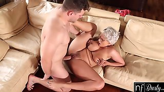 Angel Wicky In Hot Blonde Gets A Big Load On Her Boobs After Orgasms S11:e9