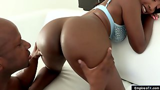 Black Guy Rims Then Anals Big Tits Ebony