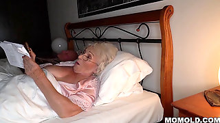 Be Calm, My Husbands S.! - Finest Grandmother Porn Ever!
