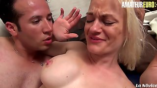 LANOVICE - BREASTY FRENCH AGED FUCKED HARD IN THE ONE AND THE OTHER HOLES - AMATEUREURO
