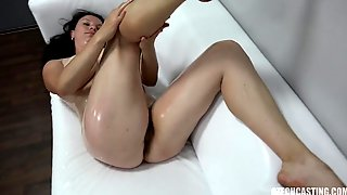 Alluring Busty MILF Simona Casting Exciting Adult Clip